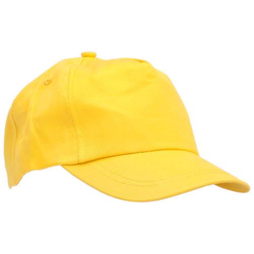 Gorras talla niño amarillas
