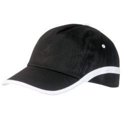8544-192 gorra line negro-blanco