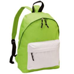 9012-220 mochila discovery verde-blanco