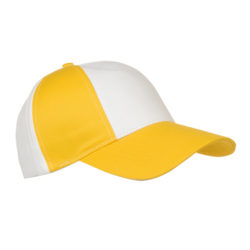 9330-118 gorra niño vico blanca-amarillo