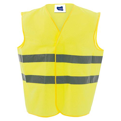 Chaleco reflectante barato color amarillo