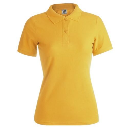 Polos de mujer baratos amarillo girasol