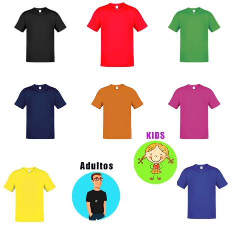 Camisetas baratas adultos y niños