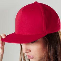 gorra-rapera-roja