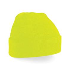 Gorros-de-colores-fluor-amarillo