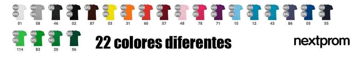 Colores camisetas beagle