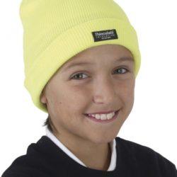 gorro-de-lana-para-niños-amarillo