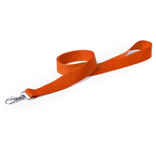 Cintas de cuello de color naranja