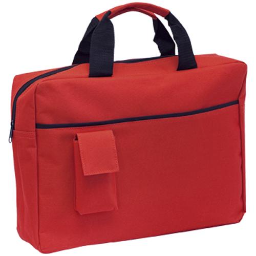 Portadocumentos personalizables rojos