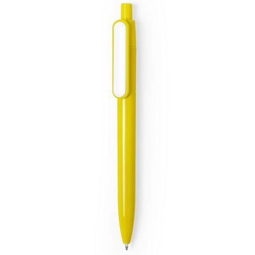 boligrafo-plastico-barato-amarillo