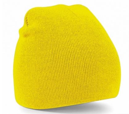 3150d48c460d7 gorros-de-punto-amarillos. Gorros de punto amarillos de tacto suave