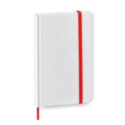 libretas-baratas-blancas-rojas