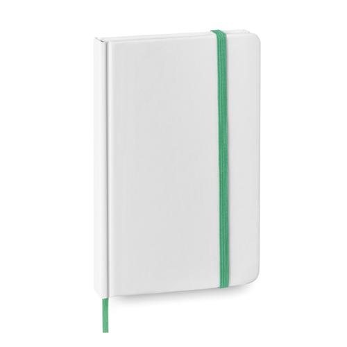 libretas-baratas-blancas-verdes
