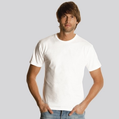 7f9fd75f6b Camiseta blanca algodon 150 gramos muy barata  1