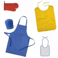 Delantales - Baberos - Kits de cocina