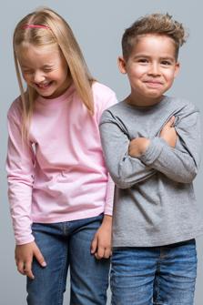 Camisetas infantiles de manga larga