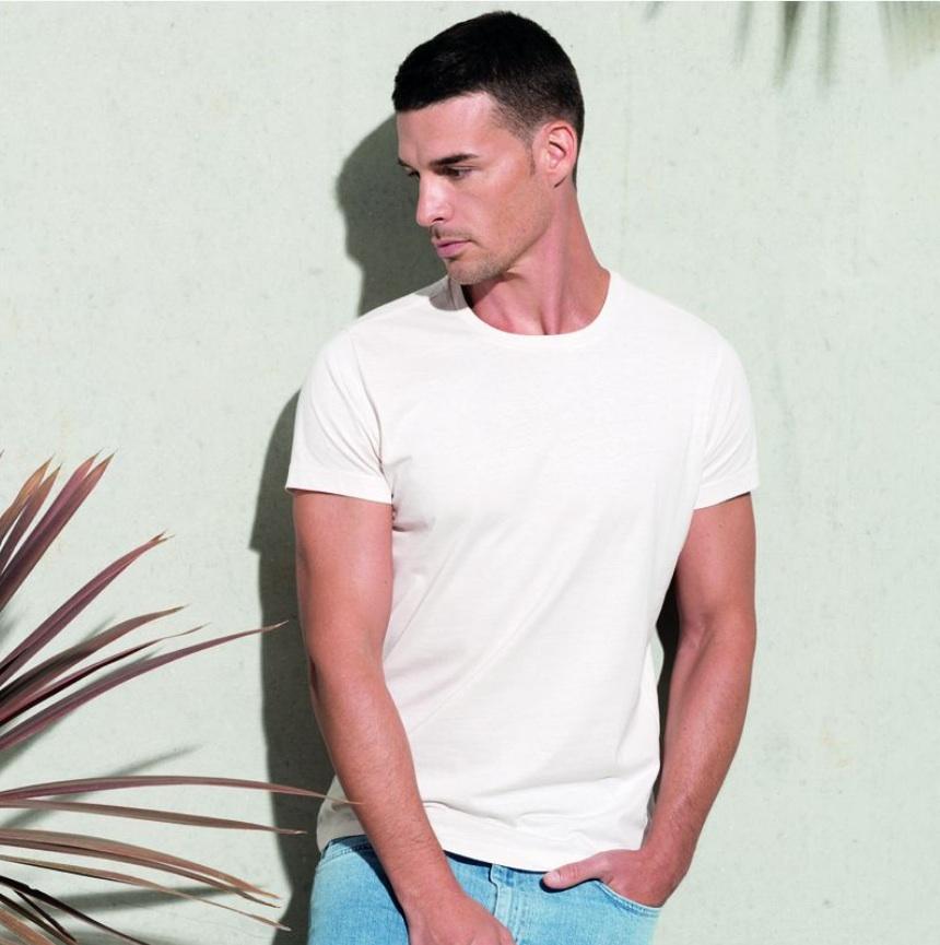 Camisetas organicas blancas