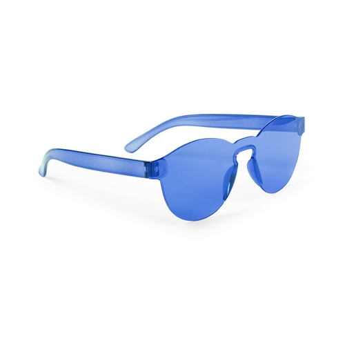 Gafas redondas azules