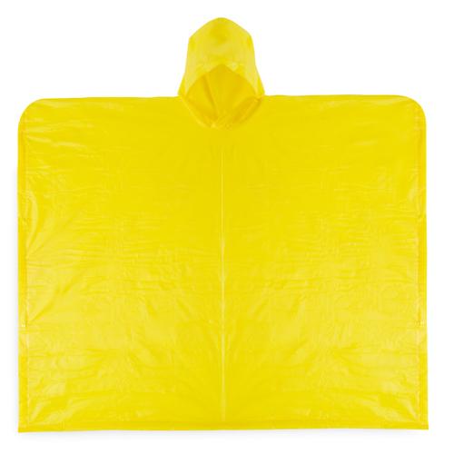 Poncho imperemable adulto amarillo