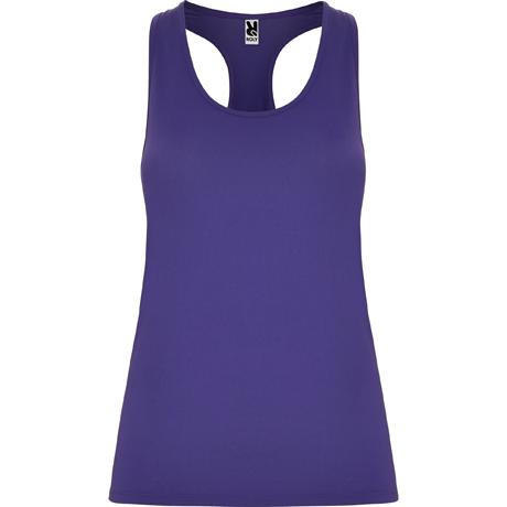 3610d953748ff Camisetas transpirables mujer. Camisetas de tirantes color morado ...