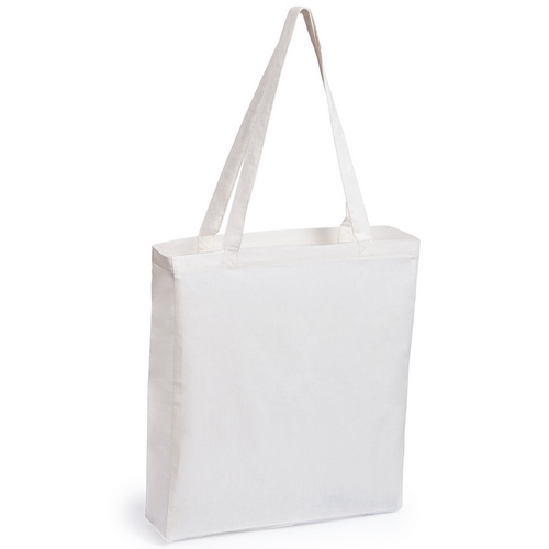 0cb27b290 Bolsa de algodon con fuelle asa larga. Precio: 0,88