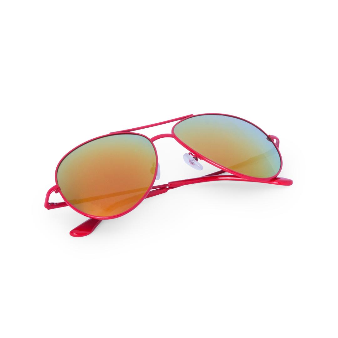 61c4059336 Gafas de sol aviador rojas, azules, blancas y amarillas. Precios de ...