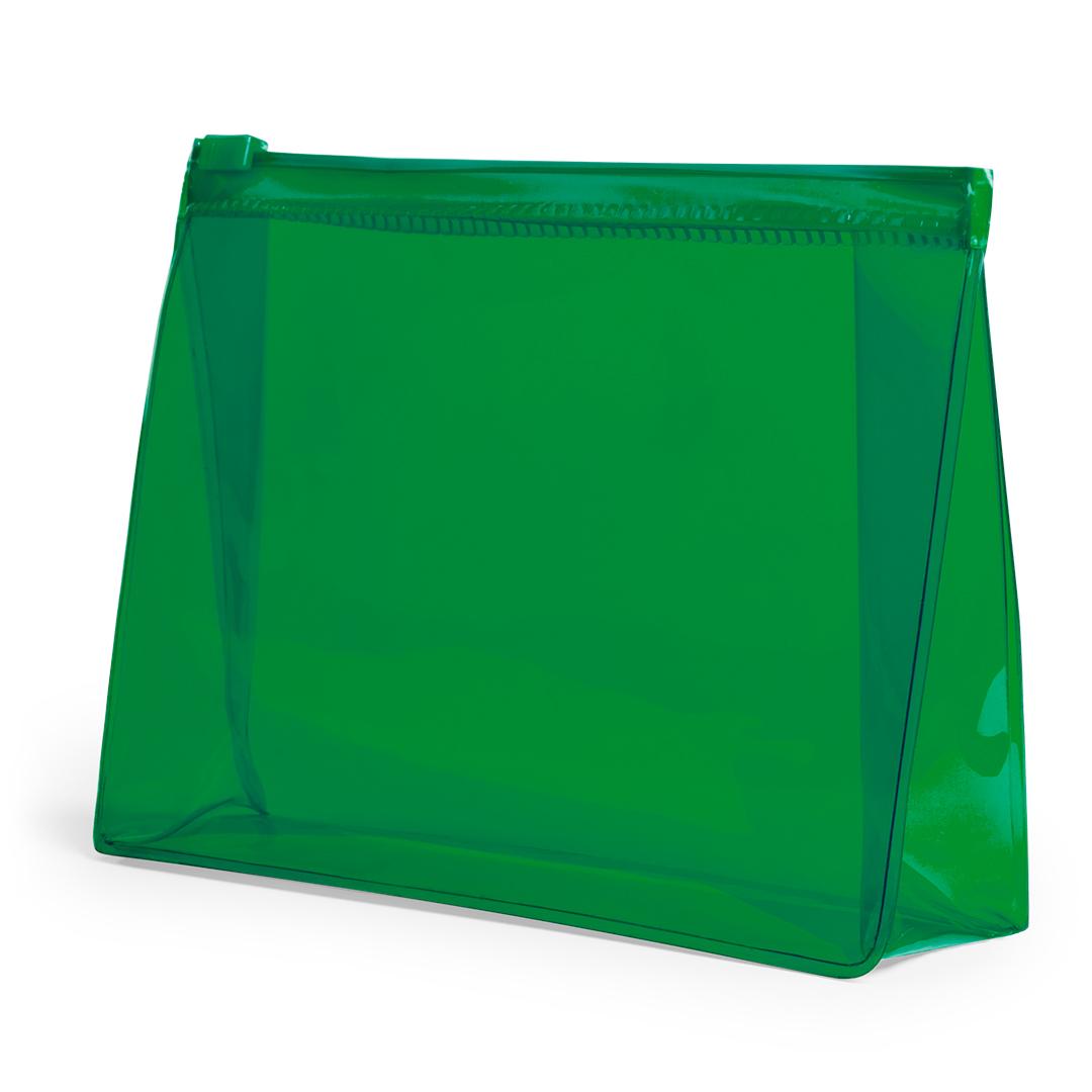 Neceser transparente de colores verde, azul, amarillo, rojo, fucsia...