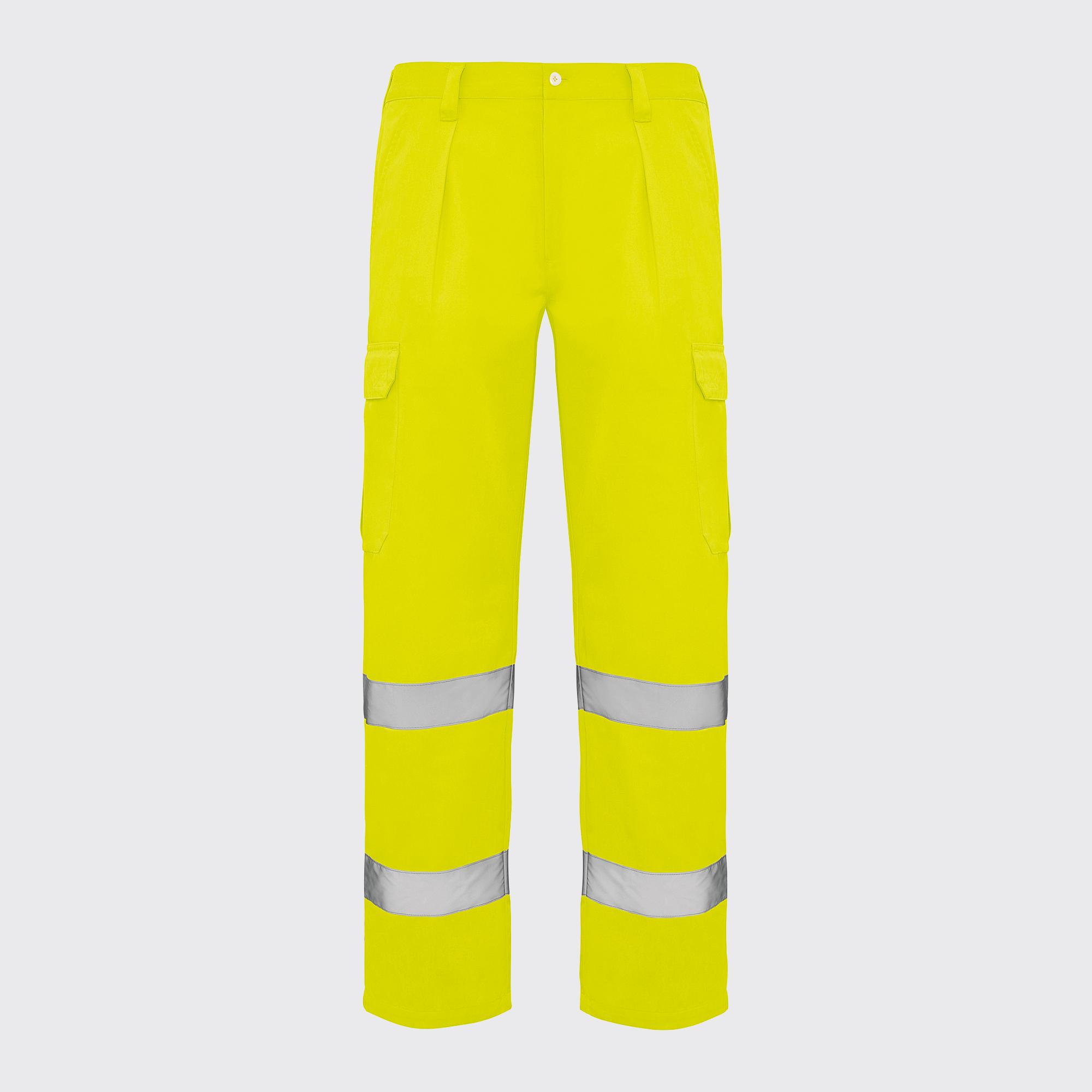 Pantalones amarillo fluor alta visibilidad Rolly