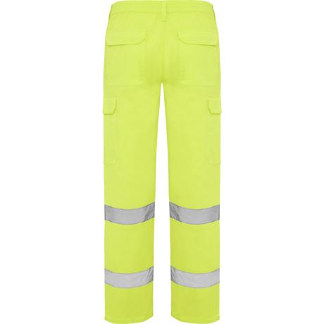 Pantalones amarillo fluor alta visibilidad