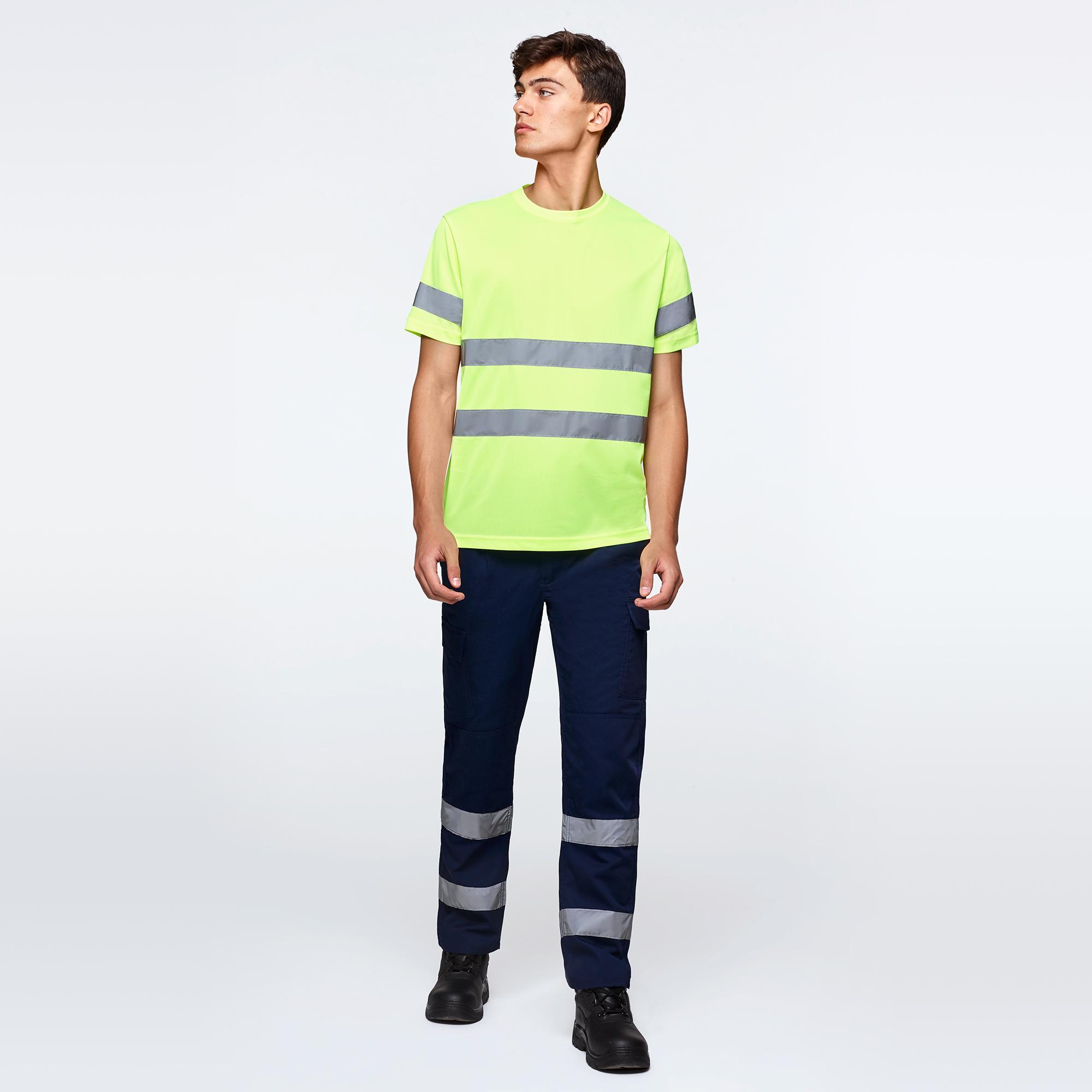 Camisetas alta visibilidad manga corta