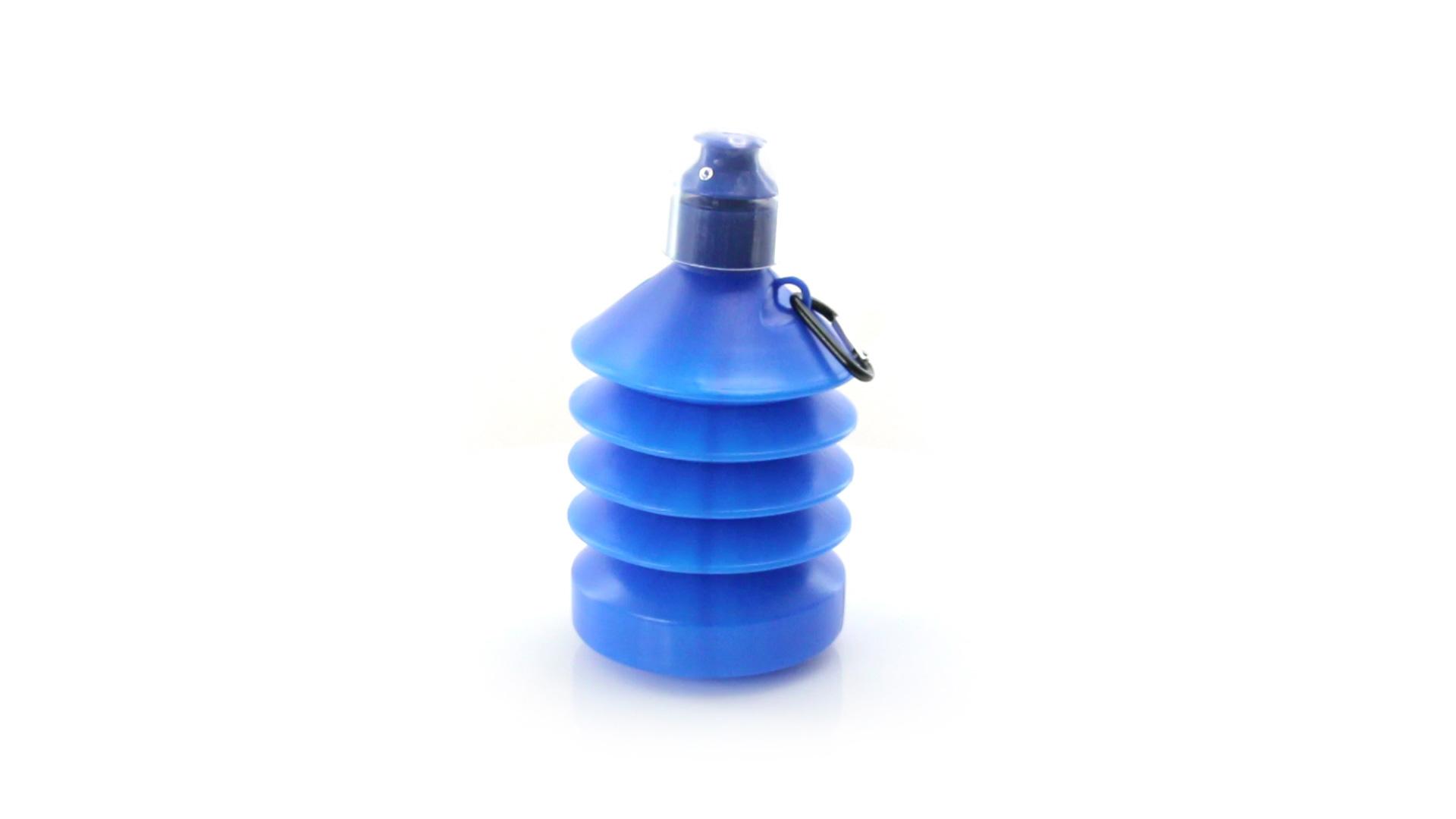 Bidones plegables baratos de color azul