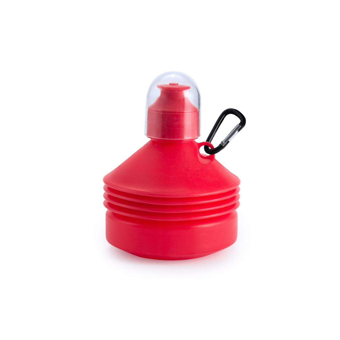 Botellas plegables rojas baratas: 0,99 céntimos