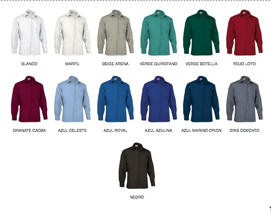 Camisas baratas de manga larga
