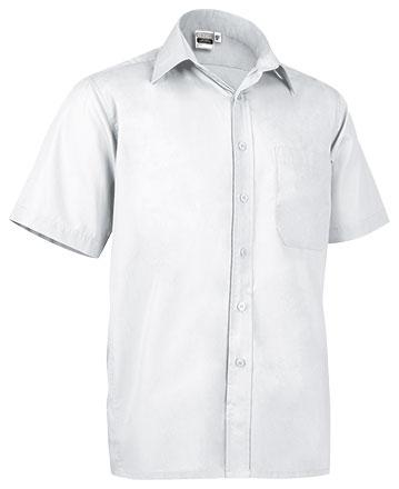 Camisas blancas baratas de manga corta
