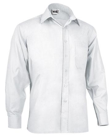 Camisas blancas baratas manga larga