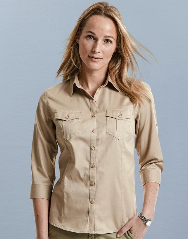 Camisas safari mujer